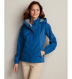 Eddie Bauer WeatherEdge Rainfoil Jacket