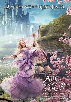 ALICE ATRAVÉS DO ESPELHO #alice #RAINHABRANCA