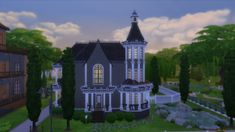 Gothic Victorian by RayanStar at Mod The Sims via Sims 4 Updates