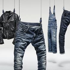 """G-STAR RAW,Amsterdam, The Netherlands, """"Inspired by the archives, reimagined for today. RAW Essentials capsule collection"""", pinned by Ton van der Veer"""