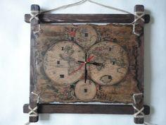 Часы.Старая карта
