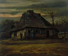 Vincent van Gogh - The cottage