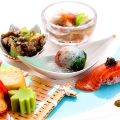 Selection of summer vegetables