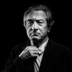 Robert De Niro photographed by Denis Rouvre.