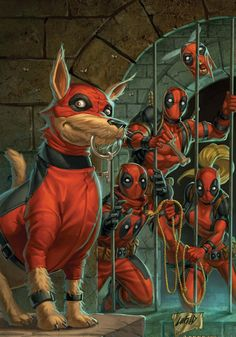 Lady Deadpool screenshots, images and pictures - Comic Vine