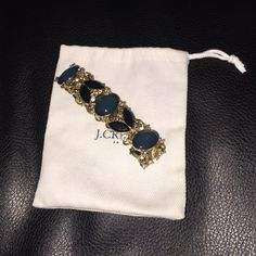 J. CREW BRACLET Like new with dustbag been used once . J. Crew Jewelry Bracelets
