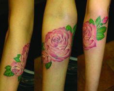 Perfect Rose Tattoo.