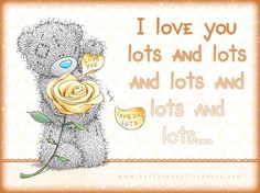 I Love You Lots and Lots and Lots........