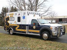 Fluvanna County Rescue Squad (VA) 2011 Ford F-450, 4x4 #ambulance #rescue #setcom