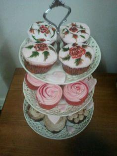 cupcake platter by julie shaw
