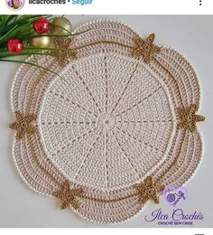 Free Crochet Doily Patterns, Crochet Doilies, Crochet Mandela, Crochet Blouse, Christmas Tree, Knitting, Holiday Decor, Holiday Crochet, Crochet Sachet