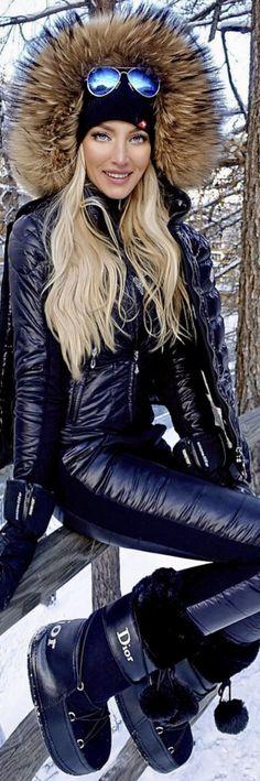 Dior ski après