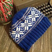 Ravelry | Basic Norwegian Star Hat | Cara Jo Miller