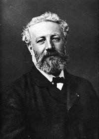 Jules Verne, (1828-1905) author of Around the World in Eighty Days and Twenty Thousand Leagues Under the Sea.