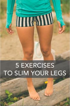 Workout Routines for all Body Parts : 5 Exercises To Slim Legs - All Fitness Fitness Workouts, Fitness Motivation, Sport Fitness, Fitness Diet, Health Fitness, Workout Routines, Health Diet, Fitness Legs, Leg Workouts