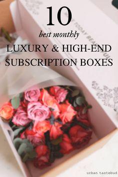 Best Luxury Subscription Boxes
