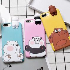 Ice Bear Phone case ❤ We Bare Bears