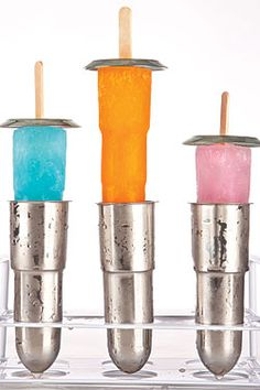 these stainless steel popsicle molds look deliciously dirty... #foodporn