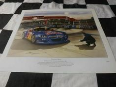 Artwork Prints, Painting Prints, Bmw Z4 M, New Print, Le Mans, Red Bull, Touring, Racing, Cars