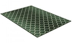 Rio grön - matta med gummibaksida