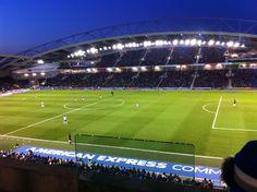 American Express Community Stadium in Brighton, Brighton and Hove