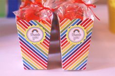 Clare's Rainbow Party :: Featured Parties 6th Birthday Parties, 2nd Birthday, Rainbow Loom Party, Rainbow Activities, Thanksgiving Games, Colorful Party, Pinwheels, Diy Party, Party Printables