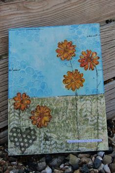 Took some 'me time' to create this fun mixed media canvas using Stencils from the Thirsty Brush & co and stamps from Heartfelt Creations. Mixed Media Canvas, Mixed Media Art, Texture Paste, Heartfelt Creations, Stenciling, Fresco, No Time For Me, Paper Flowers