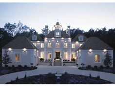 Eplans Chateau House Plan - Gracious Mansion - 3335 Square Feet and 4 Bedrooms(s) from Eplans - House Plan Code HWEPL13640