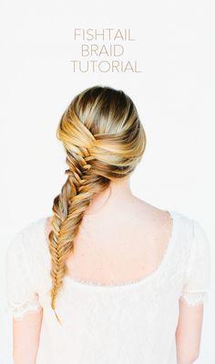 Fishtail Braid Hair Tutorial