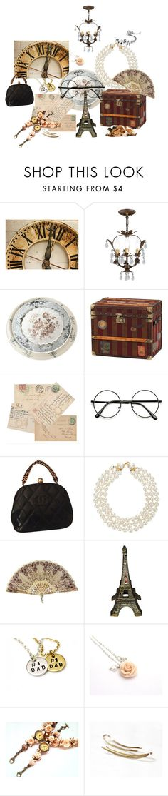"""Flea Market"" by treasury ❤ liked on Polyvore featuring WALL, Crystorama, Chanel and fleamarket"