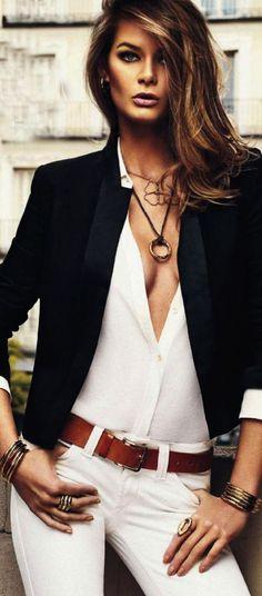 Hot Flavia de Oliveira Topmodel Catwalk 2014 Fashion