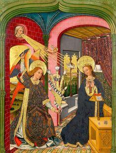 c. 1460 | Nicolás e Martín ZahortigaEspanha | Retábulo da Virgem e do Menino da colegiada de Santa Maria, Zaragoza| Museo Diocesano de Borja