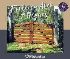 Porteira de Madeira 7 Réguas