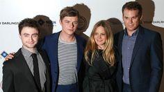 Daniel Radcliffe, Dane DeHaan, Jennifer Jason Leigh, Michael C. Hall in Kill Your Darlings Kill Your Darlings, Dane Dehaan, Jack Kerouac, Daniel Radcliffe, True Stories