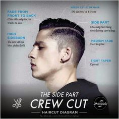 #TheSidePartCrewcut