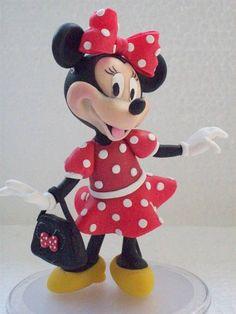 Topo de bolo, Minnie R$ 80,00