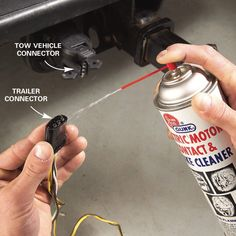 Trailer lights not working? Here's how to diagnose and fix utility and/or boat trailer wiring issues. Get your trailer hitch lights up and running again fast! Boat Trailer Lights, Trailer Light Wiring, Trailer Wiring Diagram, Utility Trailer Camper, Enclosed Trailer Camper, Trailer Storage, Travel Trailer Floor Plans, Trailer Plans, Diy Household Tips