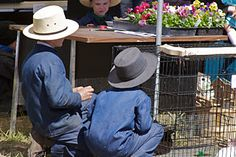 """At a """"farmer's market""""....I met my Amish friend at one in the Ozarks in Missouri!"""