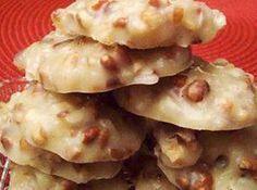 No Bake - Pecan Coconut Praline Cookies Recipe