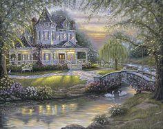 Robert Finale - Chloe's Summer Garden - Inspirational Collection