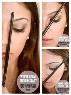 Guide to drawing eyebrows!