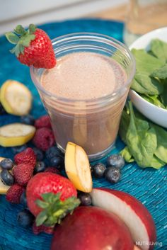 This fiber-filled Blast is a sweet treat that's also pretty low in natural sugar - a low-glycemic treat if you leave out the banana! Apples are filled with fiber, which helps regulate satiety, lea...