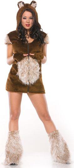 Women's Teddy Bear Costume