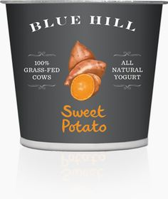 Blue Hill Yogurt - Sweet Potato (Check out other awesome flavors like beet, parsnip, butternut squash, carrot...)