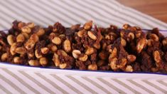 Maple  Bacon  Peanuts/MICHEAL SYMON  (Like Peanut Brittle - KICKED UP)