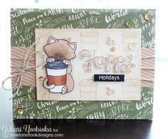 Holiday Coffee Lovers BlogHop by Handmade by Yuki   Newton Loves Coffee & Simply Seasonal by Newton's Nook Designs