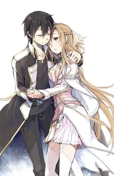 Sword Art Online: Alicization Archives - Taylor Hallo - Taylor Swift taking show anime and movies Sword Art Online Asuna, Kirito Sword, Couple Manga, Anime Love Couple, Couple Art, Kirito Kirigaya, Kirito Asuna, Anime Couples Manga, Cute Anime Couples