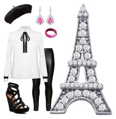 """""""A trip to Paris,France"""" by smbee on Polyvore featuring Studio, Alice + Olivia, Chinese Laundry and BillyTheTree"""