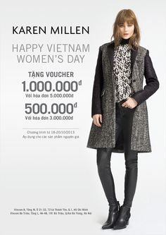 Khuyến mãi Karen Millen tặng voucher 1.000.000đ nhân ngày Phụ Nữ Việt Nam 20-10   ghienkhuyenmai