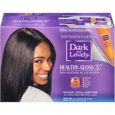 Dark and Lovely No-Lye Conditioning Relaxer System, Regular, 1 kit